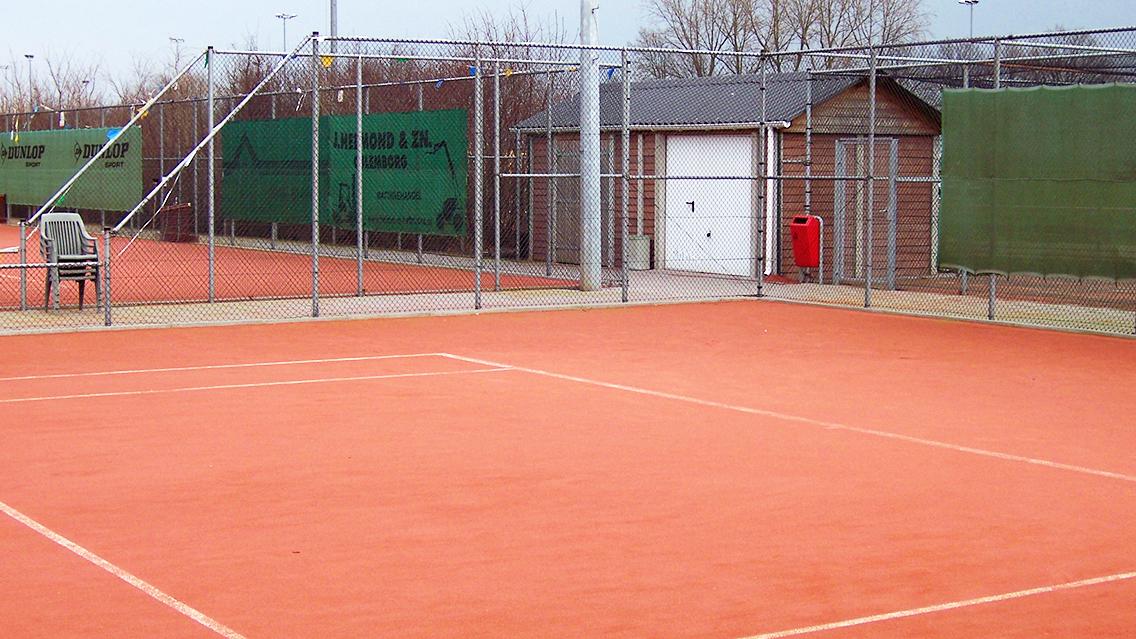 Tennisbaan afrastering1
