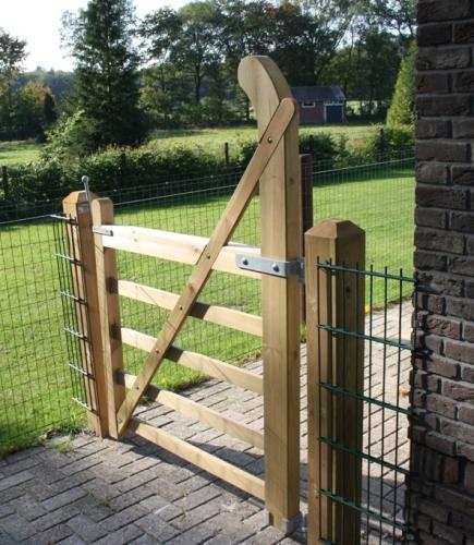 Engelse poort boog (looppoort)