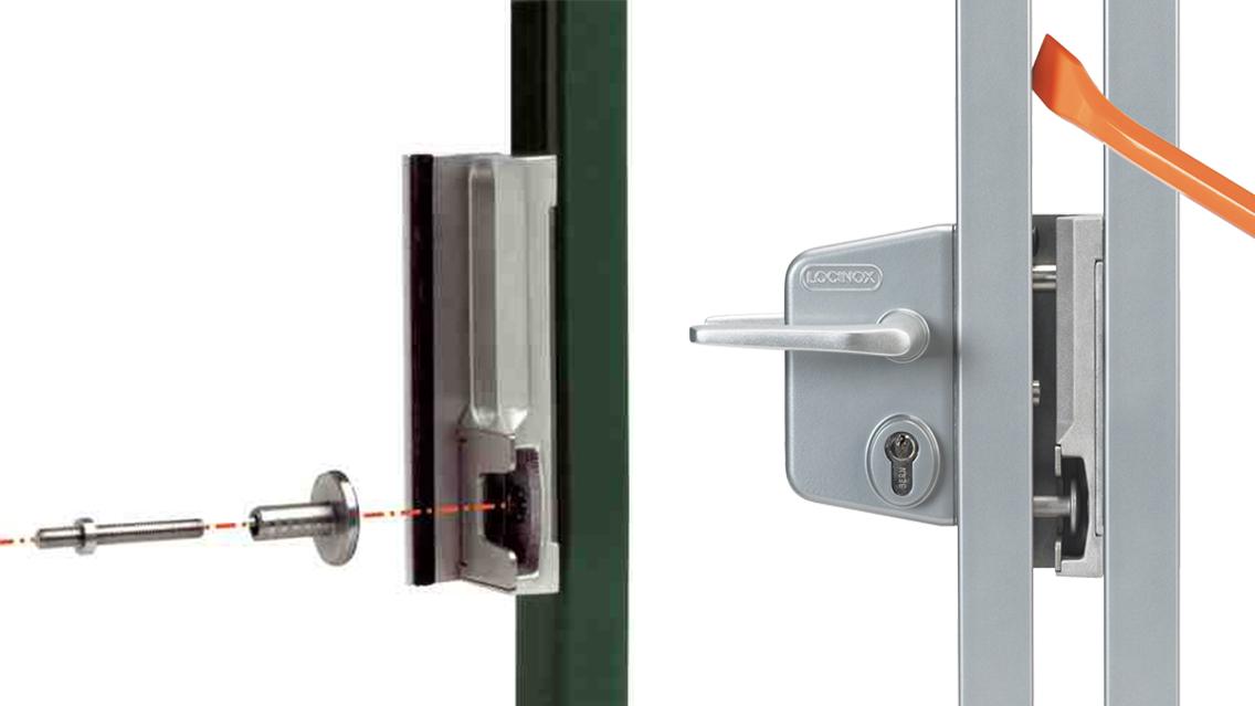 Veiligheids sloten